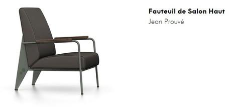 fauteuil jean prouv. Black Bedroom Furniture Sets. Home Design Ideas